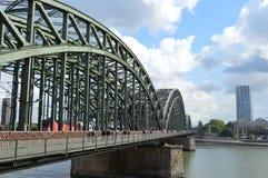 Hohenzollernbrucke photos libres de droits