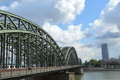 Hohenzollernbrucke photos stock