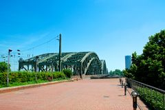 Hohenzollernbrug Stock Foto