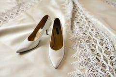 Hoher Absatz für Braut Lizenzfreies Stockfoto