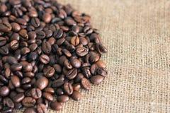 Hoher Auflösung-Kaffee-Hintergrund mit Exemplar-Platz Stockfotografie