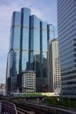 Hoher Aufstieg, der Chong Nonski Bankgkok Thailand errichtet Lizenzfreie Stockfotografie