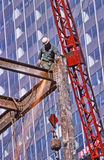 Hoher Aufstiegs-Bau New York City Lizenzfreie Stockbilder