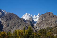 Hoher Berg bei Pasu, Nord-Pakistan Stockbilder
