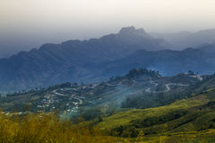 Hoher Berg in Thailand stockfoto
