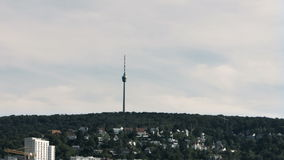 Hoher Bopser Hill Panorama 4 stock footage