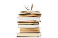 Hoher Buchhaufen Lizenzfreies Stockbild