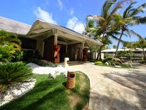 Hoher Confort Erholungsort Punta Cana Lizenzfreie Stockfotos