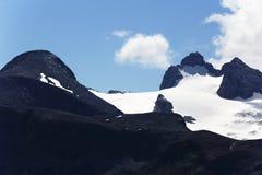 Hoher Dachstein, τοπίο γύρω από το βουνό Hoher Krippenstein, Salzkammergut, Σάλτζμπουργκ, Αυστρία Στοκ εικόνες με δικαίωμα ελεύθερης χρήσης