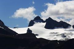 Hoher Dachstein, τοπίο γύρω από το βουνό Hoher Krippenstein, Salzkammergut, Σάλτζμπουργκ, Αυστρία Στοκ φωτογραφία με δικαίωμα ελεύθερης χρήσης