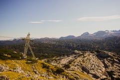 Hoher Dachstein с лыжным курортом Стоковое Фото