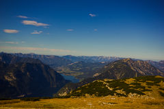 Hoher Dachstein with glacier Royalty Free Stock Image