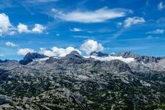 Hoher Dachstein i sommaren arkivbilder