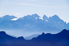 Hoher Dachstein mountain Stock Photo