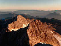 Hoher Dachstein overview Stock Images