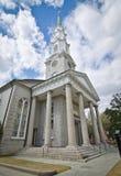 Hoher hoher Kirchturm Lizenzfreies Stockfoto