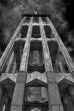 Hoher Kirchturm Stockfotografie