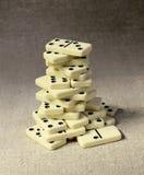 Hoher Kontrollturm von Dominos Stockbilder