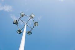 Hoher Mast Lizenzfreies Stockfoto
