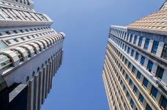 Hoher moderner Wolkenkratzer Stockbilder