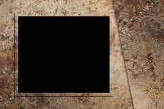 Hoher Res-abstrakter Hintergrund mit Fotofeld Stockfotos