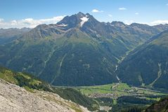Hoher Rifler, Austria Stock Photography
