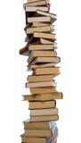 Hoher Stapel Bücher Stockbild