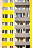 Hoher Wohnungsblock Lizenzfreies Stockbild
