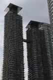 Hohes Anstieg-Gebäude im Bau Stockbild