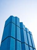 Hohes Anstieggebäude in CBD Bereich Stockbild