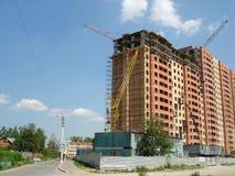 Hohes Anstieggebäude, das steigt Lizenzfreie Stockbilder