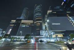 Hohes Aufstiegsbürogebäude in Nagoya-Stadt, Japan Stockfotografie
