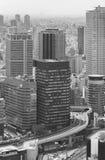Hohes Aufstiegsbürogebäude in Osaka, Japan Stockfoto