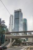 Hohes Aufstiegsgebäude, Hong Kong, China stockbild