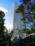 Hohes Bürogebäude Lizenzfreie Stockfotos