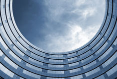 Hohes Bürohaus des Ringes Stockbilder