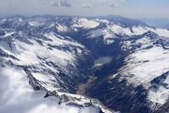 Hohes Fumo-Tal in Adamello-Strecke, Italien Lizenzfreies Stockfoto