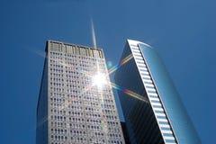 Hohes Gebäude Stockbild