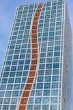 Hohes Gebäude in Astana Stockbild