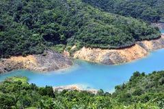 Hohes Insel-Reservoir stockfotografie