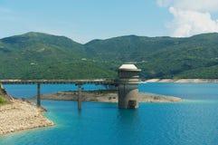 Hohes Insel-Reservoir bei Hong Kong Global Geopark in Hong Kong, China stockbild