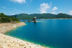 Hohes Insel-Reservoir bei Hong Kong Global Geopark in Hong Kong, China lizenzfreie stockfotos