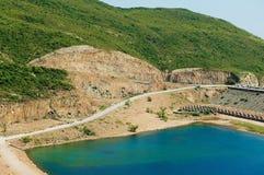 Hohes Insel-Reservoir in Hong Kong Global Geo Park von China in Hong Kong, China lizenzfreie stockbilder