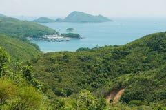 Hohes Insel-Reservoir und Hong Kong Global Geo Park von China in Hong Kong, China lizenzfreie stockfotos