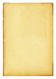 Hohes Papierausführliches der Weinlese mit Ausschnittspfad Stockfoto