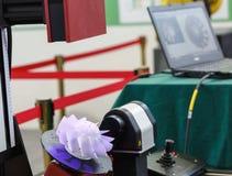 hohes Präzisionsteil des Scans 3D für Rücktechnik stockfoto