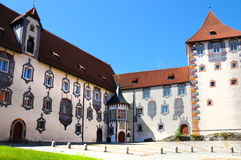 Hohes Schloss Stock Image