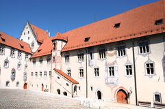 Hohes Schloss Stock Photography