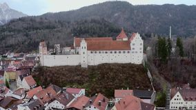 Hohes Schloss Fussen stock video footage