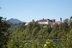Hohes Schloss Fussen Stock Image